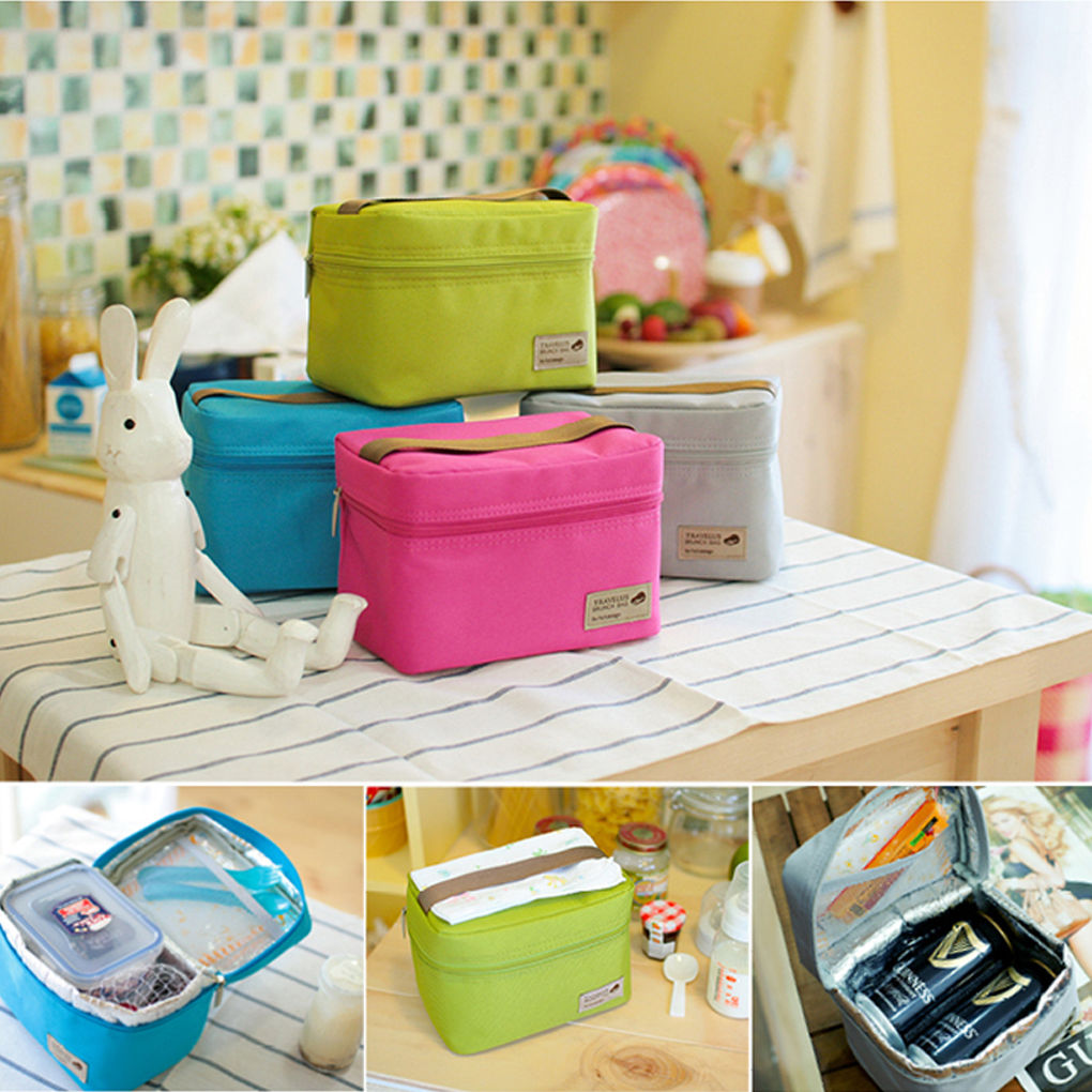 299 portable insulated thermal cooler lunch box bento