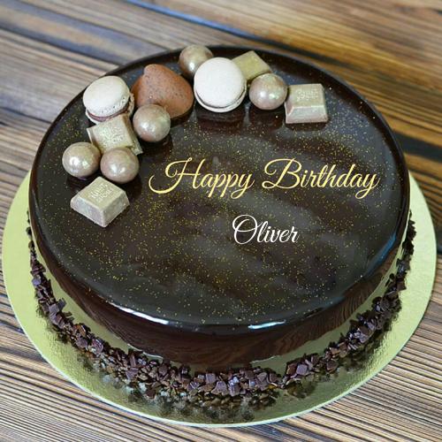 Write Name On Belgium Chocolate Birthday Cake With Name Birthday Cake Chocolate Happy Birthday Chocolate Cake Cake Name