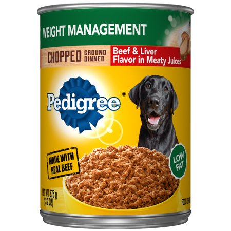 Pedigree Chopped Ground Dinner Weight Management With Beef Liver