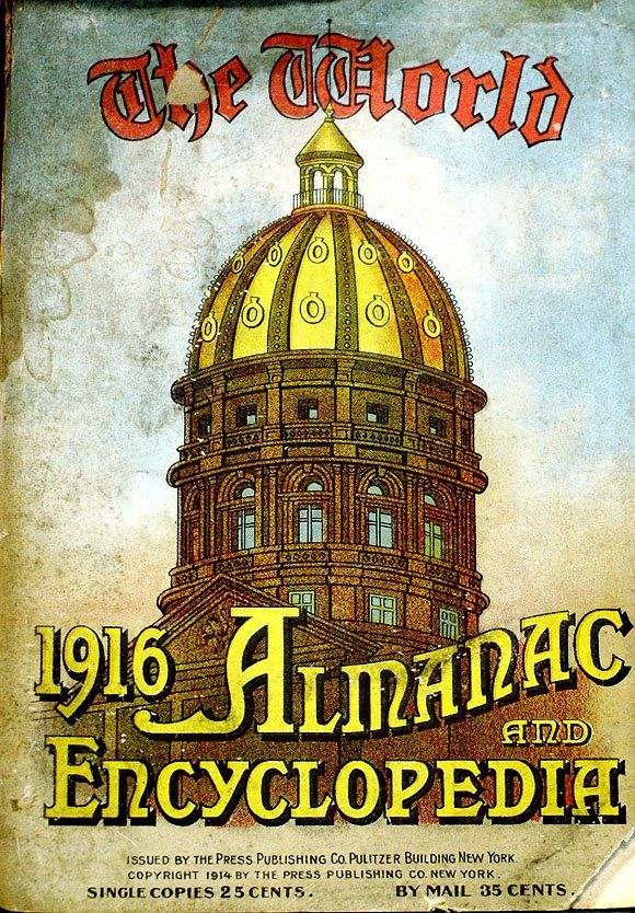 The World Almanac and Encyclopedia 1916