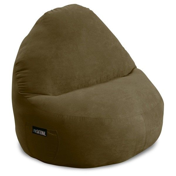 Attirant Sitsational 2 Seater Suede Bean Bag