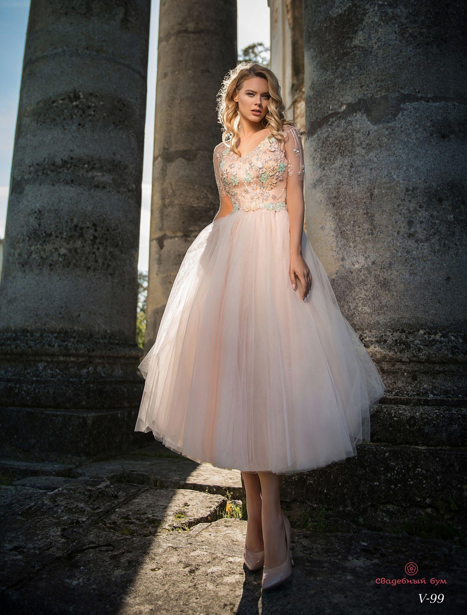 39b3c76ddc2 Вечернее платье Ema Bride V-99 - Интернет-магазин платьев «Свадебный бум  Украина