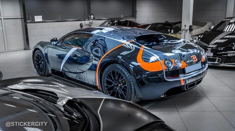 Vehicle · Black Chrome Bugatti Veyron Super ...