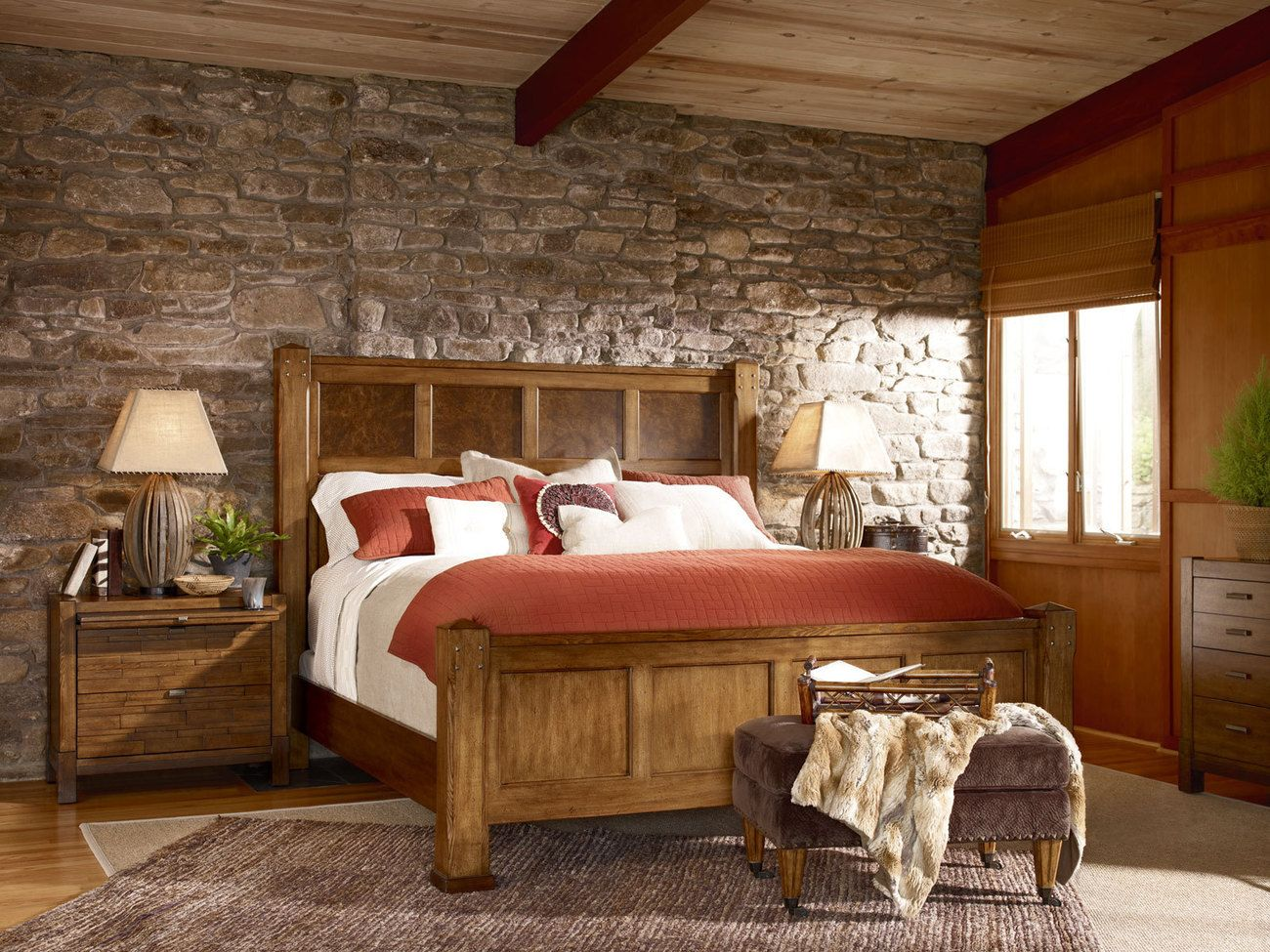 Wood Decorating Ideas for Country Brown Themed