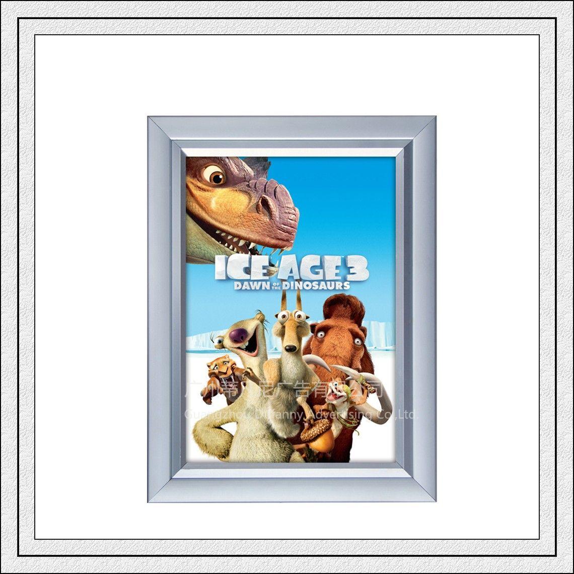 Top quality DF007 snap clip poster frame aluminum photo frame metro ...