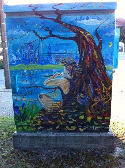 Newton, MA: Street Art. My favorite BoxART street art ...