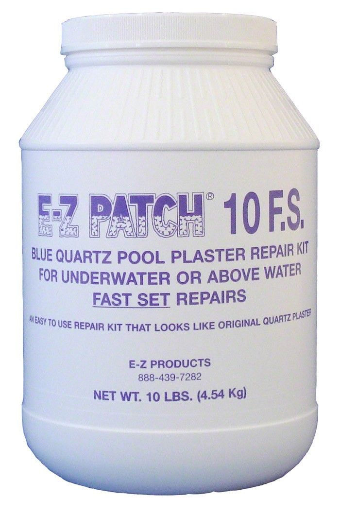 E Z Patch 10 F S Fast Set Quartz Plaster Repair Is Specifically Designed For Underwater Or Fast Above Water Plaster Repair Pool Plaster Swimming Pool Repair