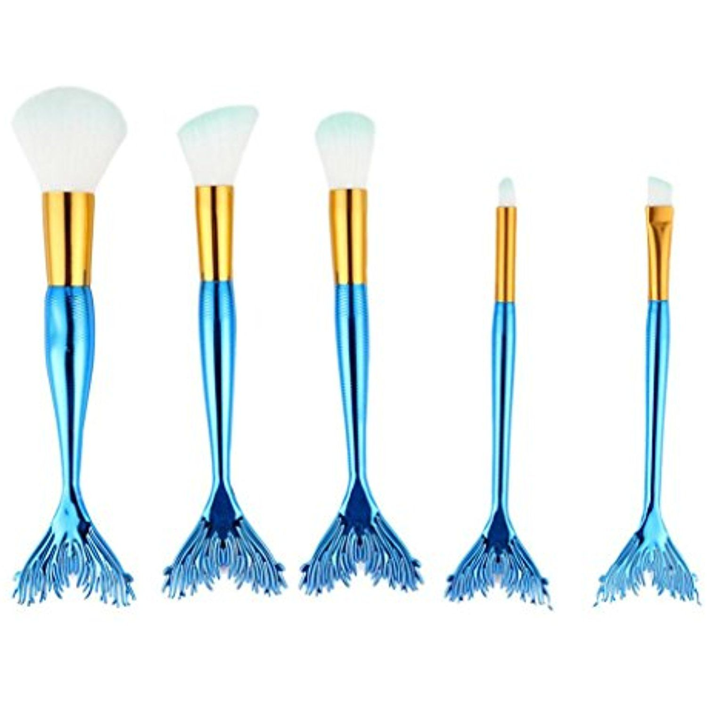 Kixing(TM) 5PCS Powder Makeup Brushes Set Foundation