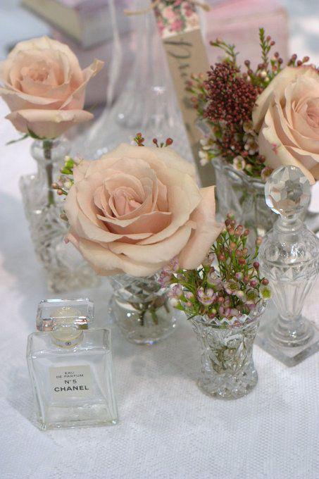 Vintage mini vases with vintage style vintage colour roses blush vintage mini vases with vintage style vintage colour roses blush rose junglespirit Choice Image