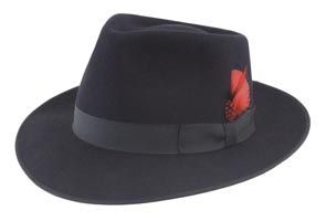 Let's not forget about 1940s felt fedora hats for men, they so need to be revived in the fashion world.