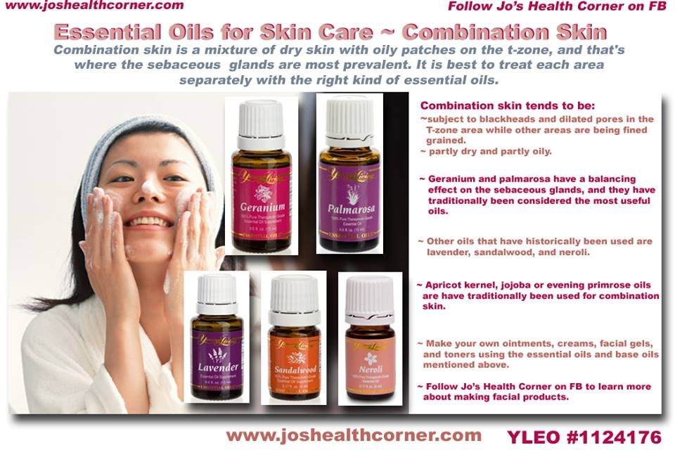 Essential oils skin care