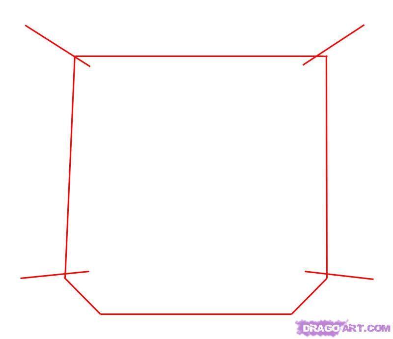 Como Desenhar Uma Janela Aberta Passo A Passo 2 Janela Aberta