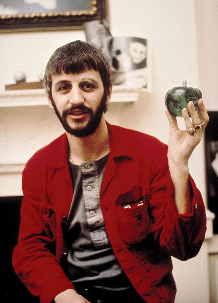 Ringo Starr At Apple 1969 Photo By Chris Walter