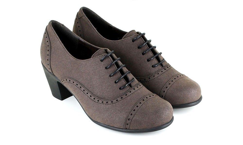 cf090f91609 Veganer Damenschuh - Vegetarian Shoes Everley Shoe Brown