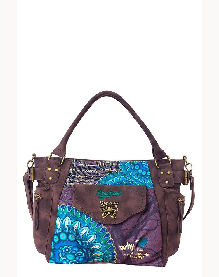 5b3163358 DESIGUAL Bag MCBEE BOLAS ROJAS verde - 51,80€ : Fashion Monicapecado ...