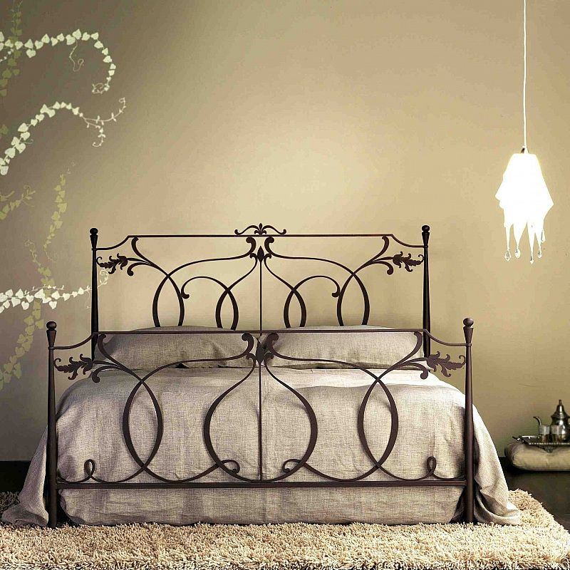 Cosatto Letti.Concerto Laser Cut Tubular Wrought Iron Bed By Cosatto Letti