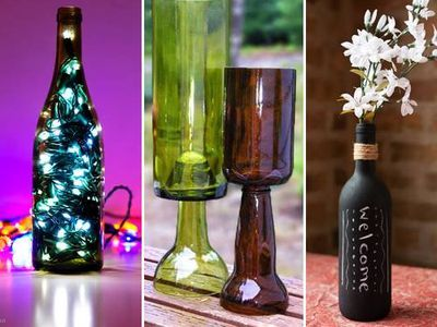 16 ways to reuse wine bottles | MNN - Mother Nature Network