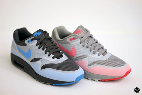 New detailed images of the upcoming pair of Nike Air Max 1 Hyperfuse  running shoes that will release in
