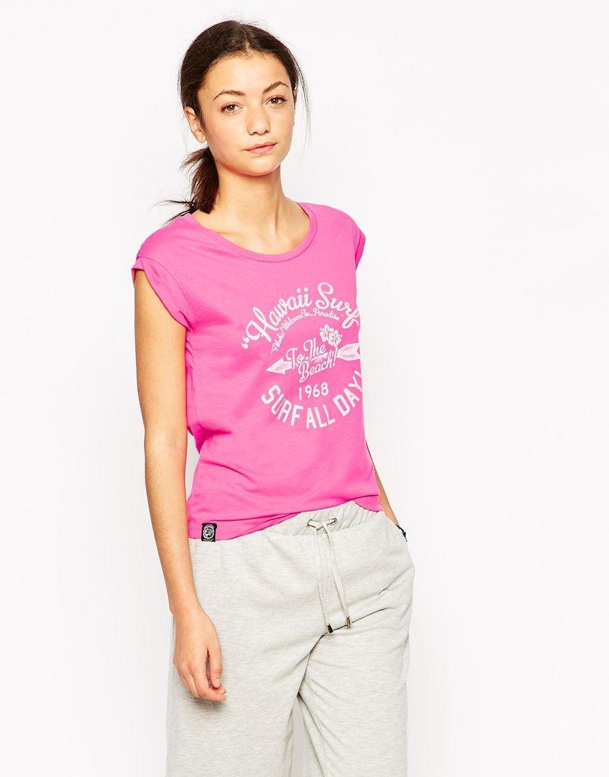Tokyo Laundry Hi Lo Printed T-Shirt