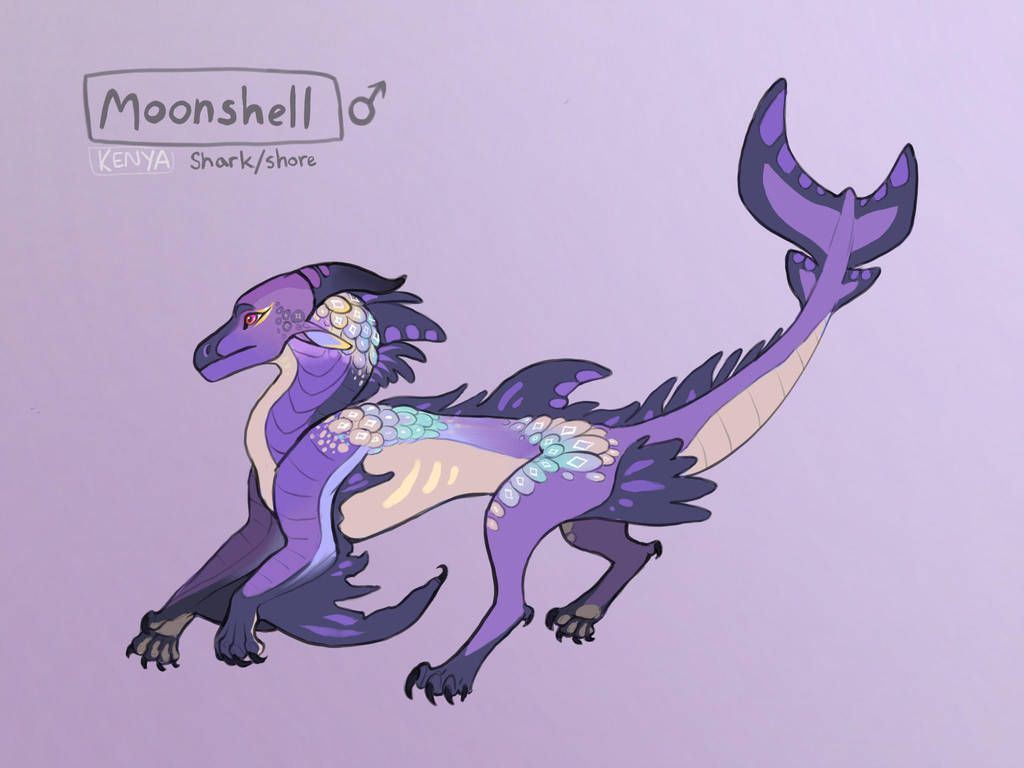 Moonshell By Kenyajoy Wings Of Fire Dragons Wings Of Fire Dragon Sketch