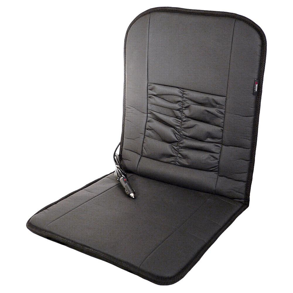 Wagan Deluxe 12V Heated Cushion, Black Heated seat