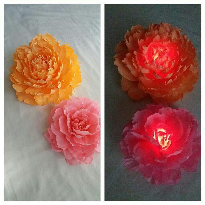 Peonies paper flowers lamp paper flowers pinterest peony peonies paper flowers lamp mightylinksfo Gallery