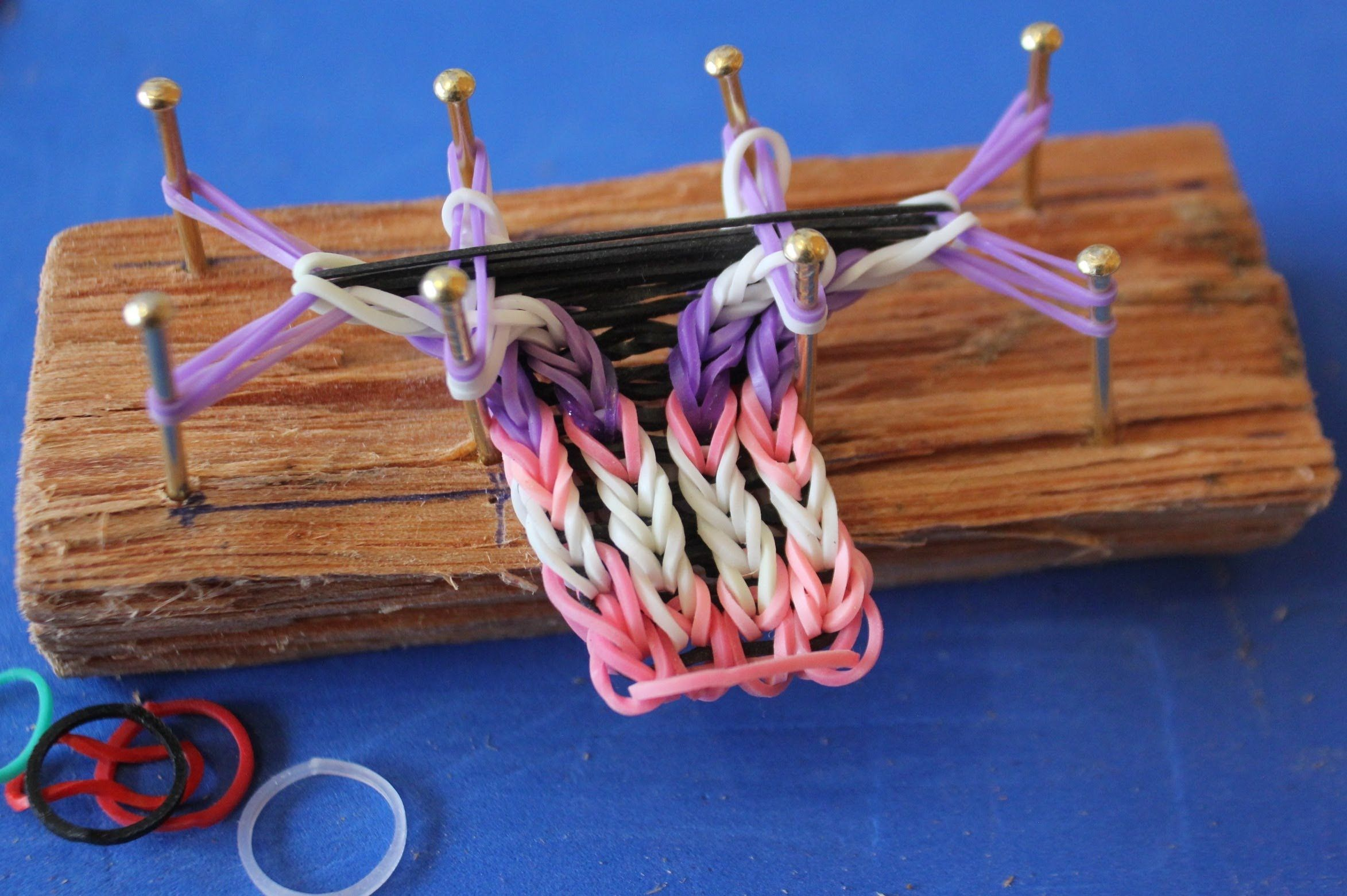 Gomitas para hacer pulseras con telar