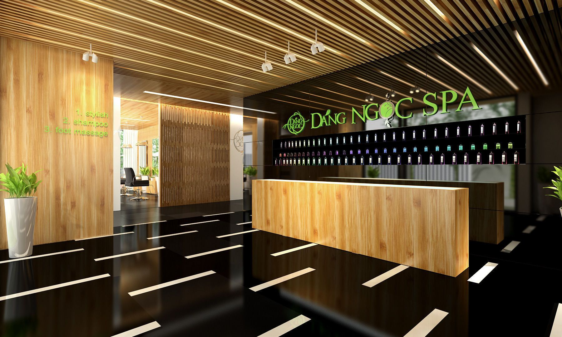 Image Result For Spa Reception