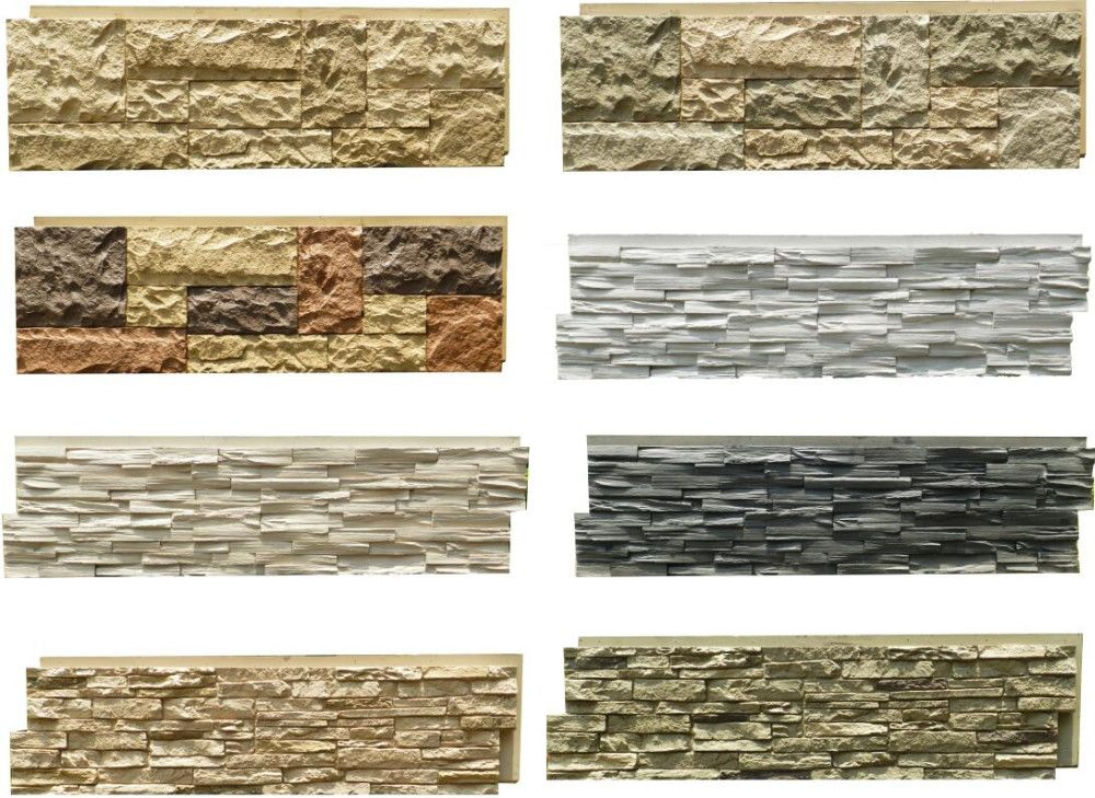Pu Faux Stone Type And Tile