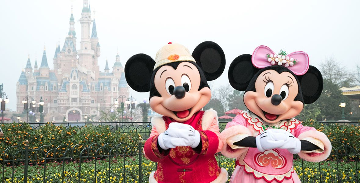Shanghai Disney Resort Gets Ready For A Magical Chinese New Year Celebration In 2020 With Images Disney Shanghai Shanghai Disney Resort Disney Resort