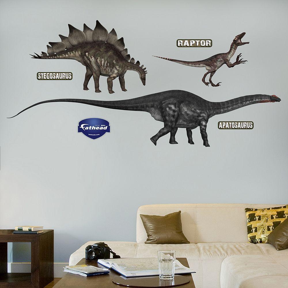 Fathead Dinosaur Wall Decals Multicolor Dinosaur Wall Dinosaur