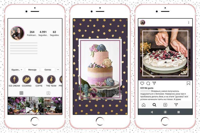 Bakery instagram story highlightsbakery instagram icons