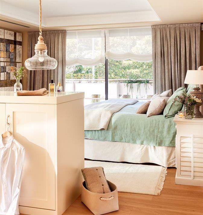 Dormitorio con librería y salida al balcón   Dormitorios   Pinterest ...