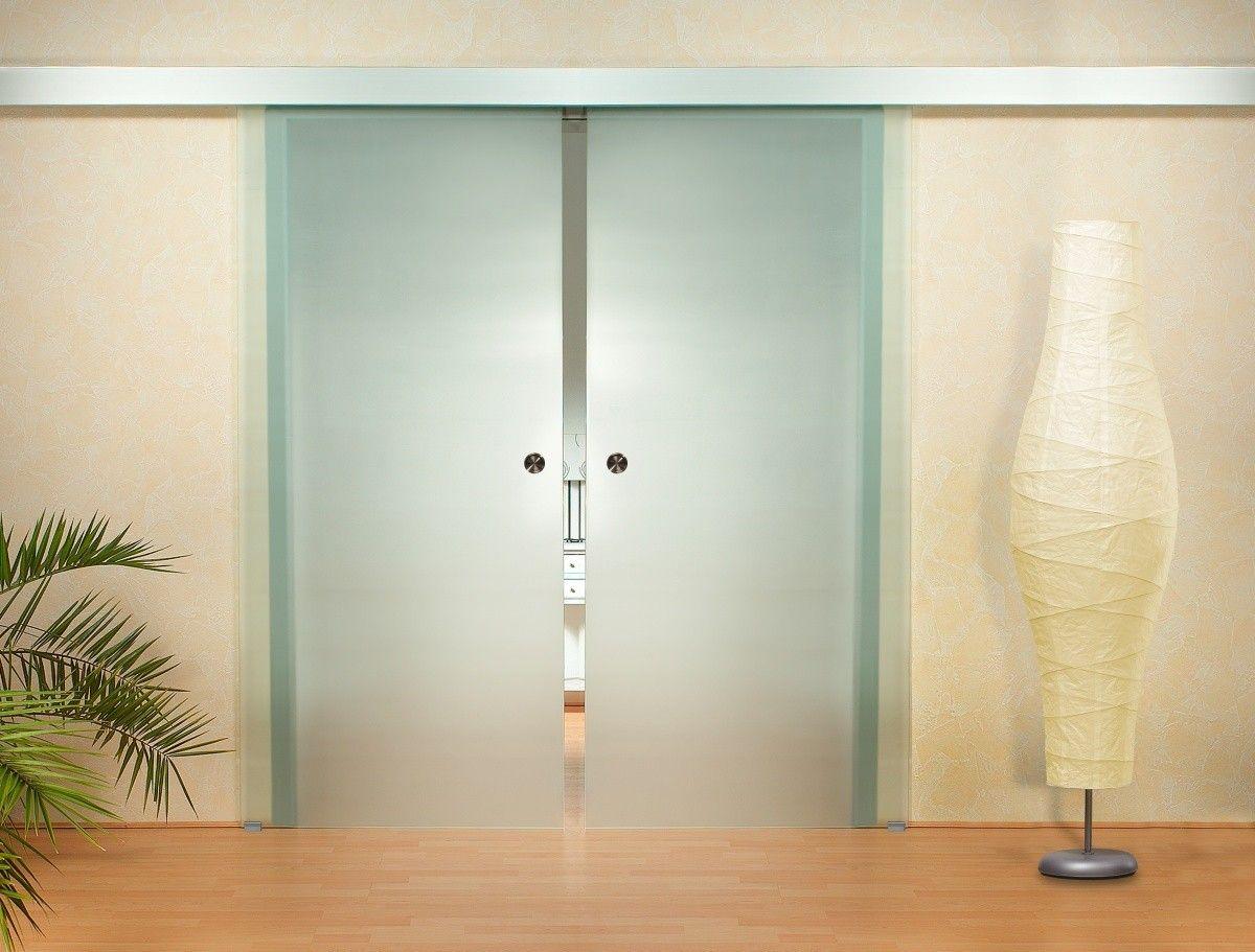 Hardglazen Schuifdeur Voor Binnen Huis Glazen Schuifdeur