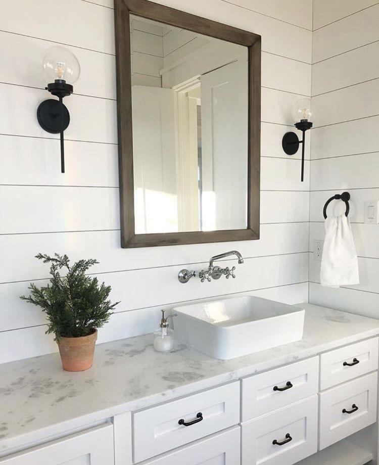 photo by texasforeverfarmhouse farmhousebathroom on custom bathroom vanity mirrors id=33991
