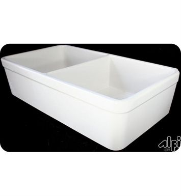 Alfi Brand Ab512 W 32 Inch Double Bowl Fireclay Farmhouse Kitchen Sink In White With Images Farmhouse Sink Kitchen Sink Kitchen Sink