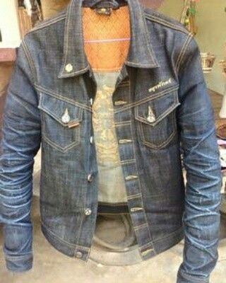 b8b4f1d0fe46 Vintage Fade Denim Jacket #rawdenimmadness #rawdenimfades | Raw ...