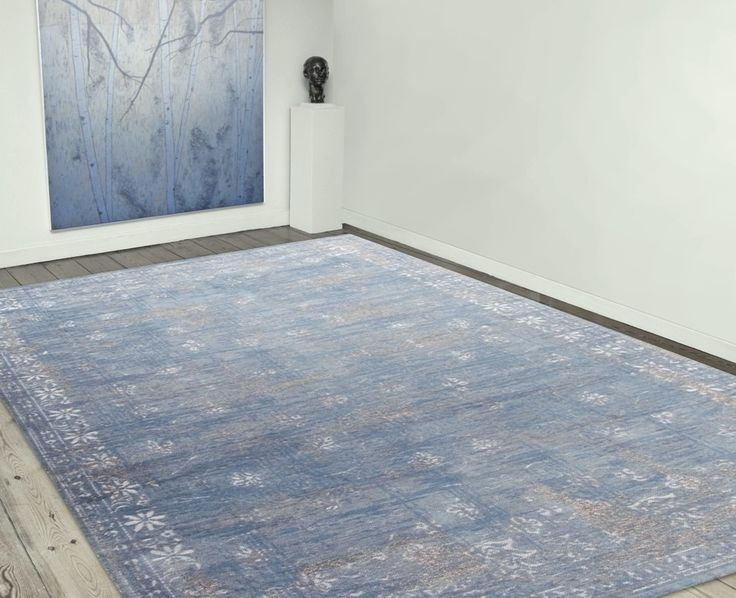 The Cameo Collection Dutch Blue Woven Rug Tom Dempsey Flooring Galway Blue Rug Oversized Area Rugs Rugs