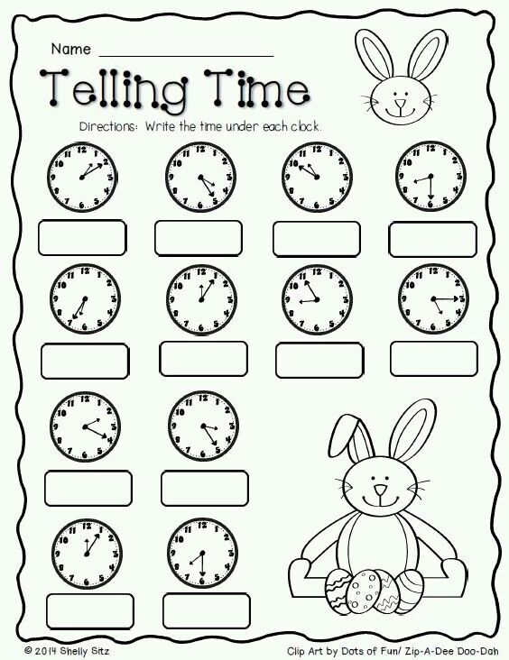 Que hora es? | hojas de aplicacion | Pinterest | Telling the time ...