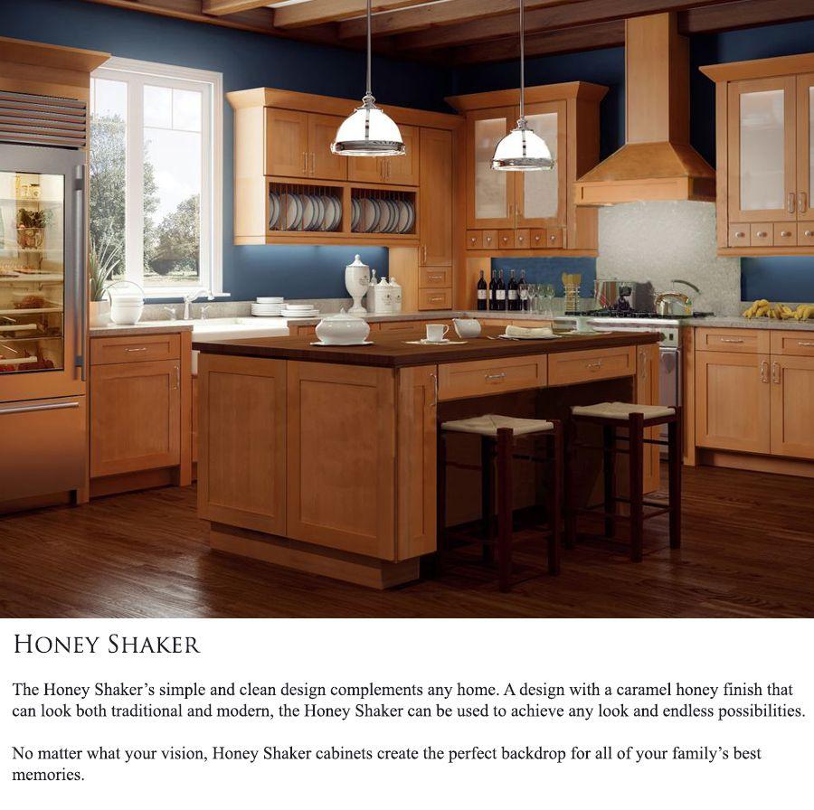 Honey Shaker | Rta kitchen cabinets, Assembled kitchen ...