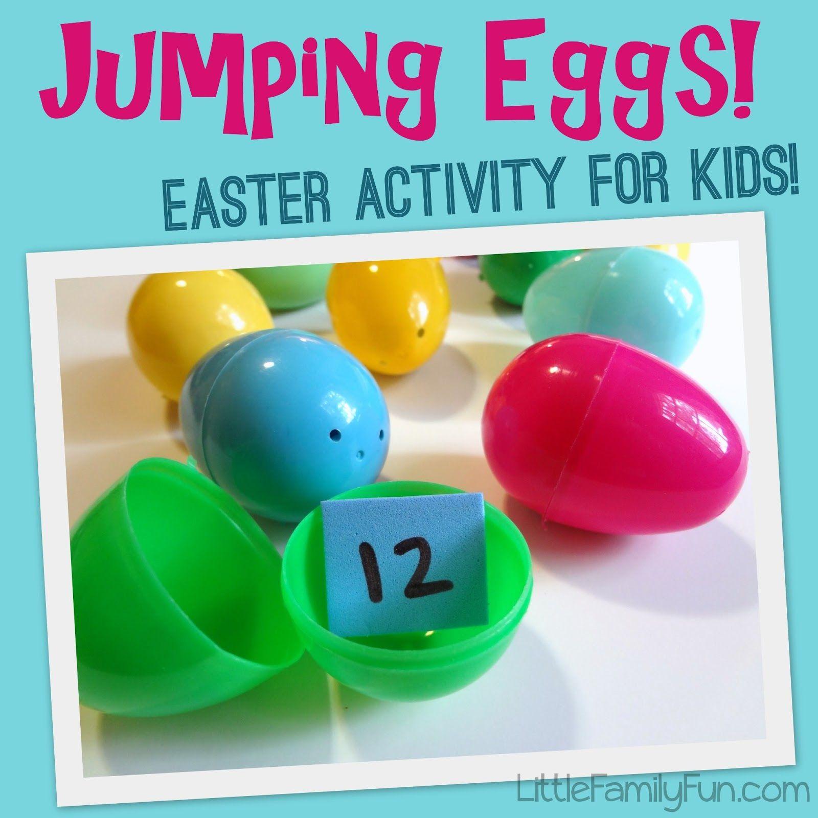 Gross Motor Activity Jumping Eggs From Little Family