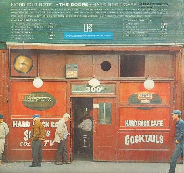 6 - Doors, The - Morrison Hotel - D - 1970 - Issue 1978- | Flickr: partage de photos!