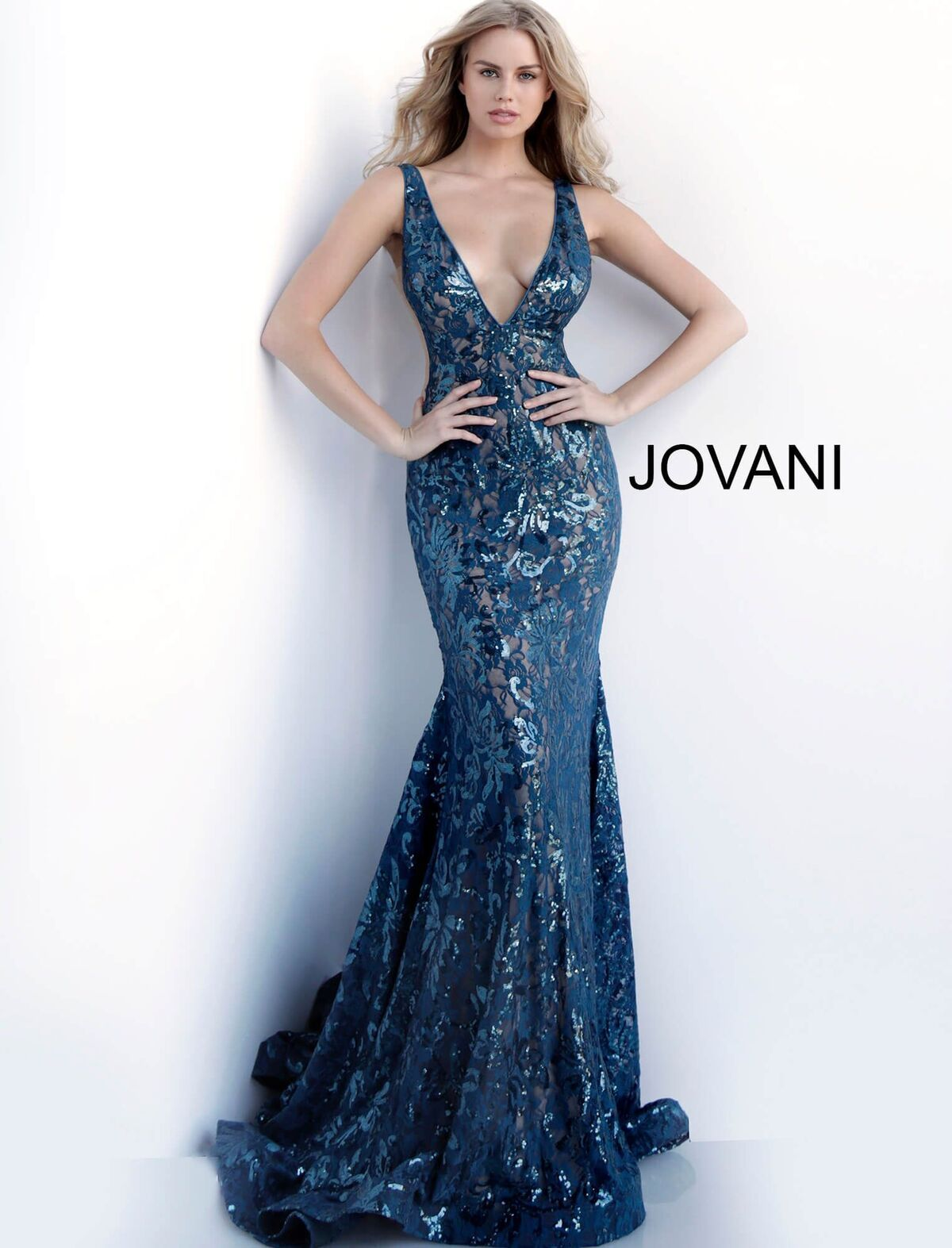 f49afa45d0 Beautiful in Blue by Jovani Spring 2019