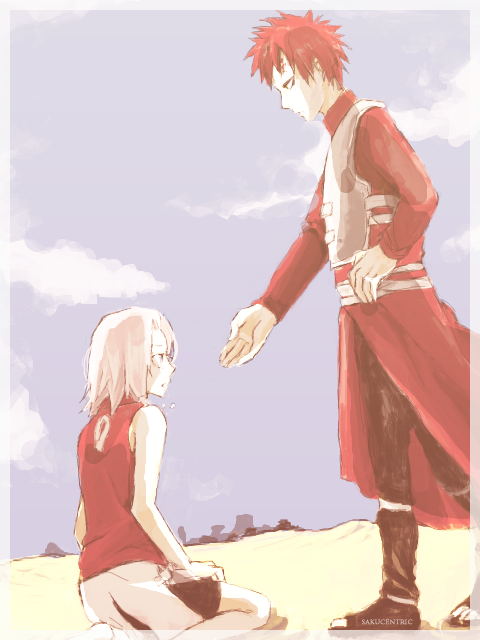gaara and sakura moments - photo #34