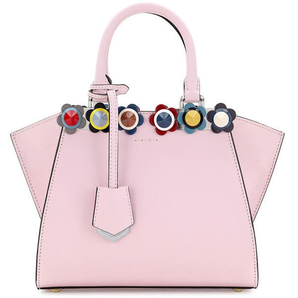 Fendi 3jours Mini Floral Stud Tote Bag 163 2 020 Liked On