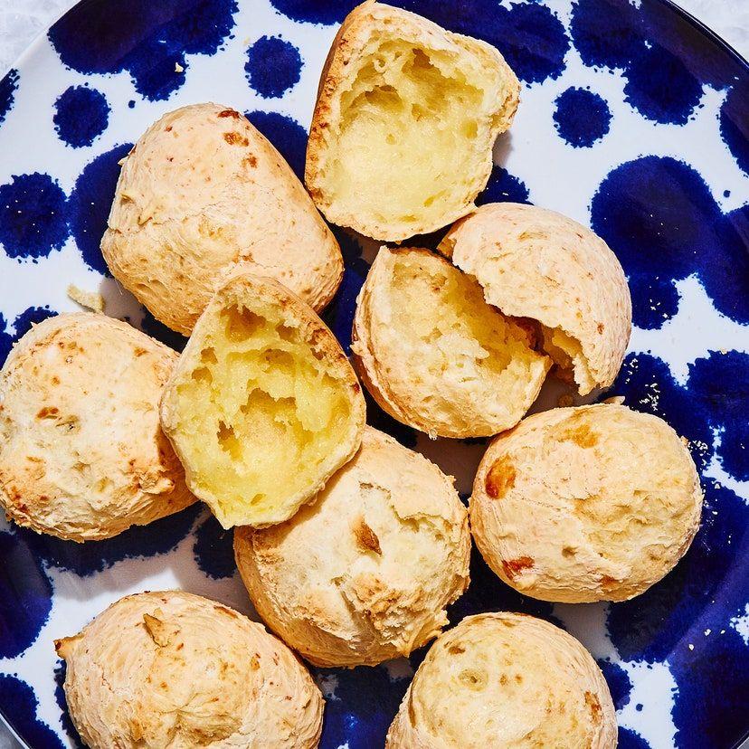 Pao De Queijo Brazilian Cheese Bread Recipe In 2020 Cheese