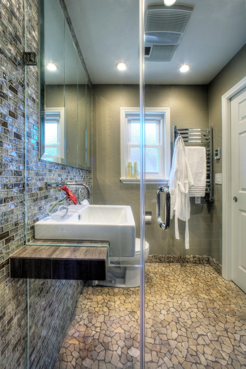 15 Ways To Refresh Your Walls On A Budget  Hgtv Living Spaces Stunning Bathroom Design Trends Inspiration