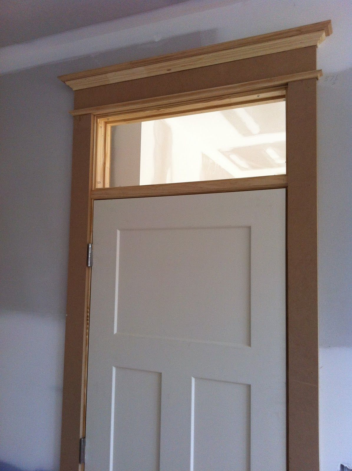 Accesories Decors Interior Small Transom Windows Over White Front Doors As Well As Faux Wooden
