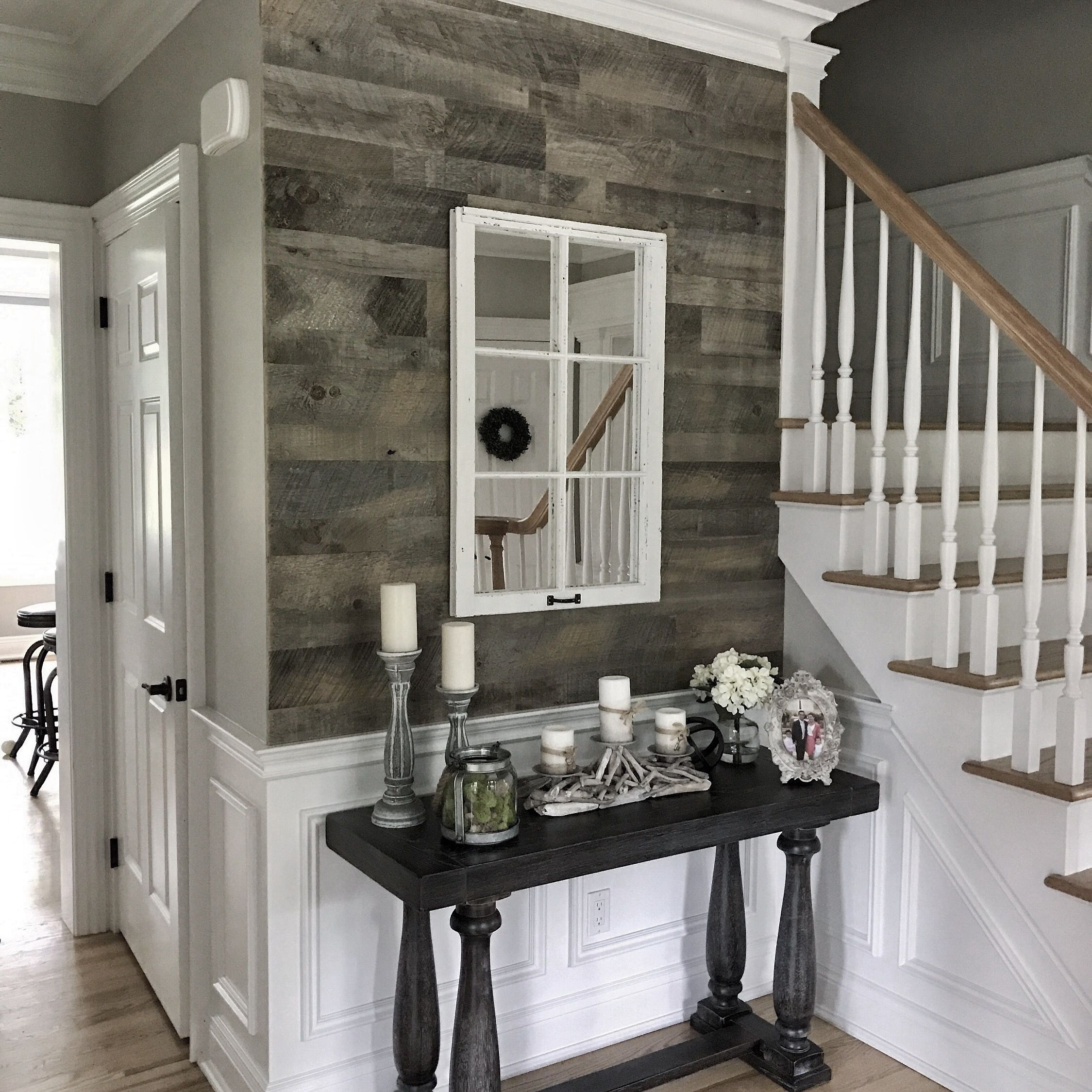 Harbor Gray Reclaimed Wood Paneling Diy Shiplap Installation Barnwood Wall Gray Wall Paneling Grey Wall Diy Shiplap Reclaimed Wood Paneling Barnwood Wall