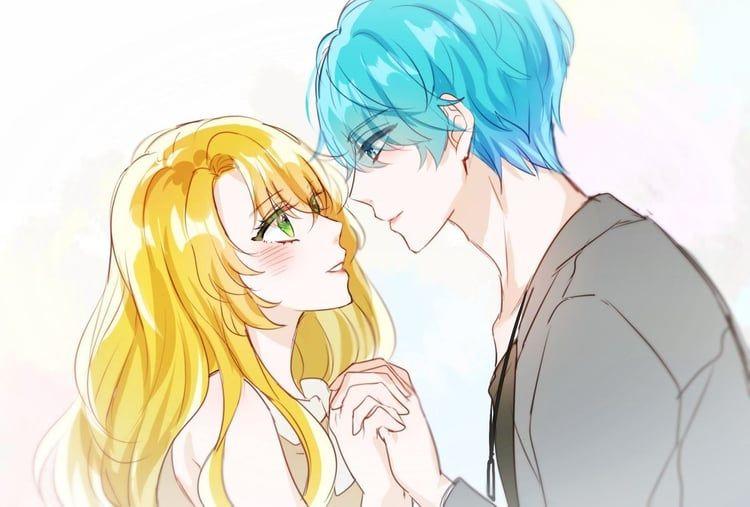 Immagine Di Anime Blond Hair And Blue Hair Rika Mystic